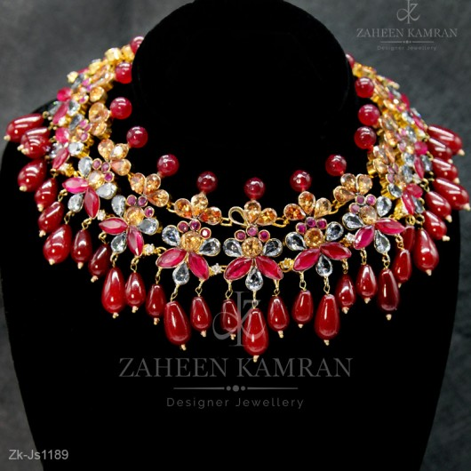 Stunning Ruby Set
