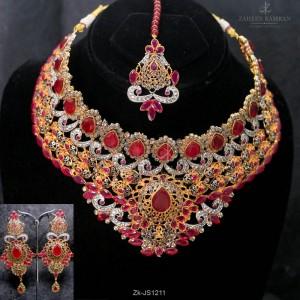 Ruby Bridal Set