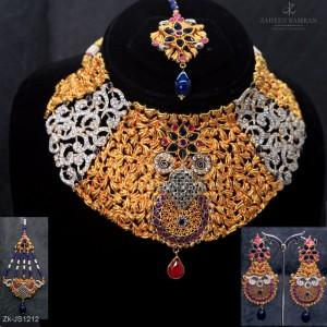 Filigree Stars Necklace Set