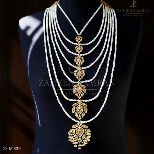 7 Layers Necklace Haar