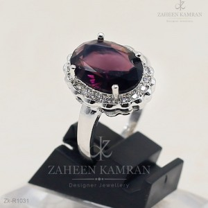 Dignified Amethyst Ring