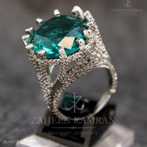 Alluring Zircons Rings