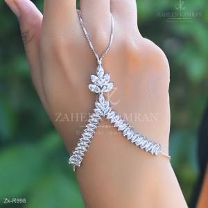 Silver Trendy Angla