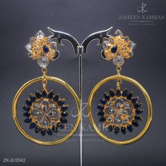 Sapphire POP Earrings