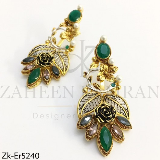 Emerald stylish Danglers