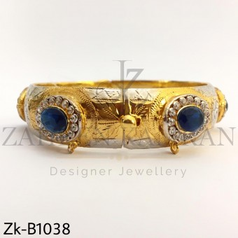 Royal sapphire bangle