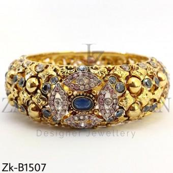 Round Sapphire kara