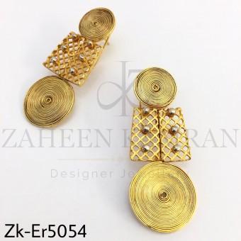 Coiled earrings