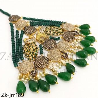 Agate Pearls Jhummar