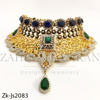 Sapphire Emerald Set