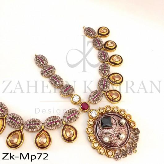 Kundan touch zirconia mathapati