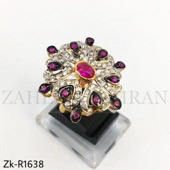 Ruby Zirconia Ring