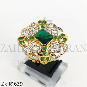 Unique Emerald Stone Ring