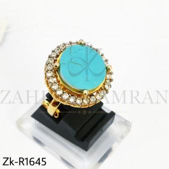 Unique Feroza Zirconia Ring
