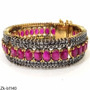 Adorable Ruby Stone Bangle