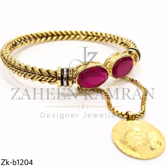 Ruby Stoned Fine Quality Bangle