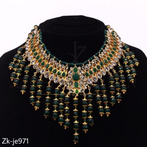 Stylish Emerald Necklace